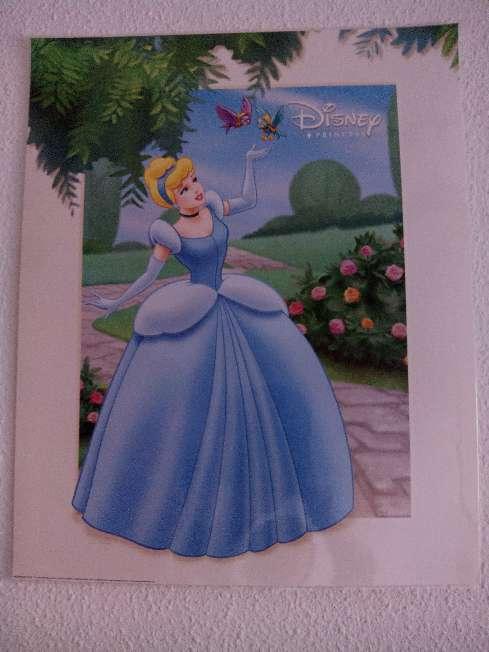 Imagen producto 3 láminas planificadas princesas Disney 50x40cm  3