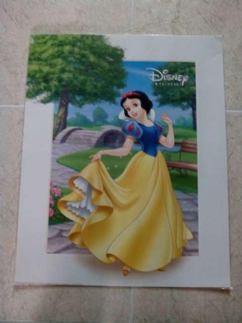 Imagen producto 3 láminas planificadas princesas Disney 50x40cm  4