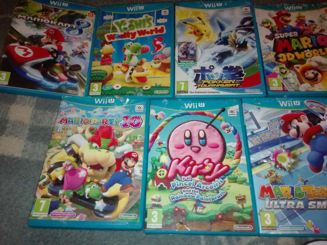 Imagen producto Pack 13 juegos wii u 2