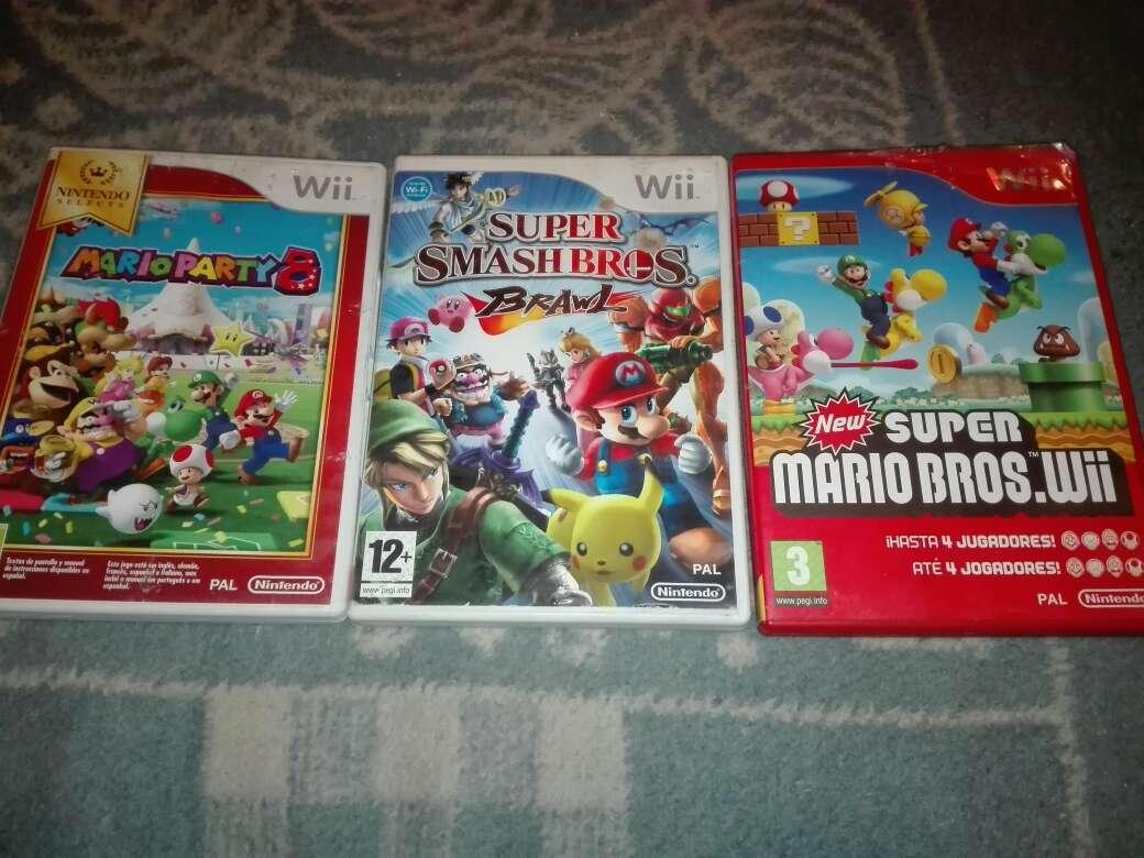 Imagen Pack 3 juegos wii