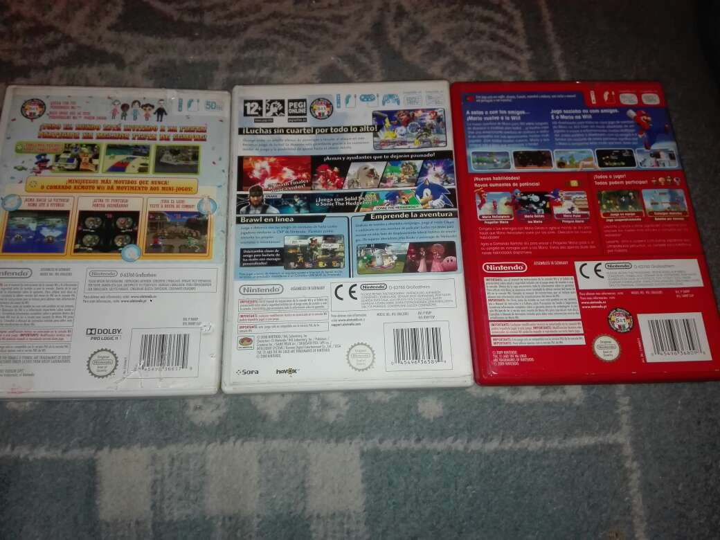 Imagen producto Pack 3 juegos wii 2