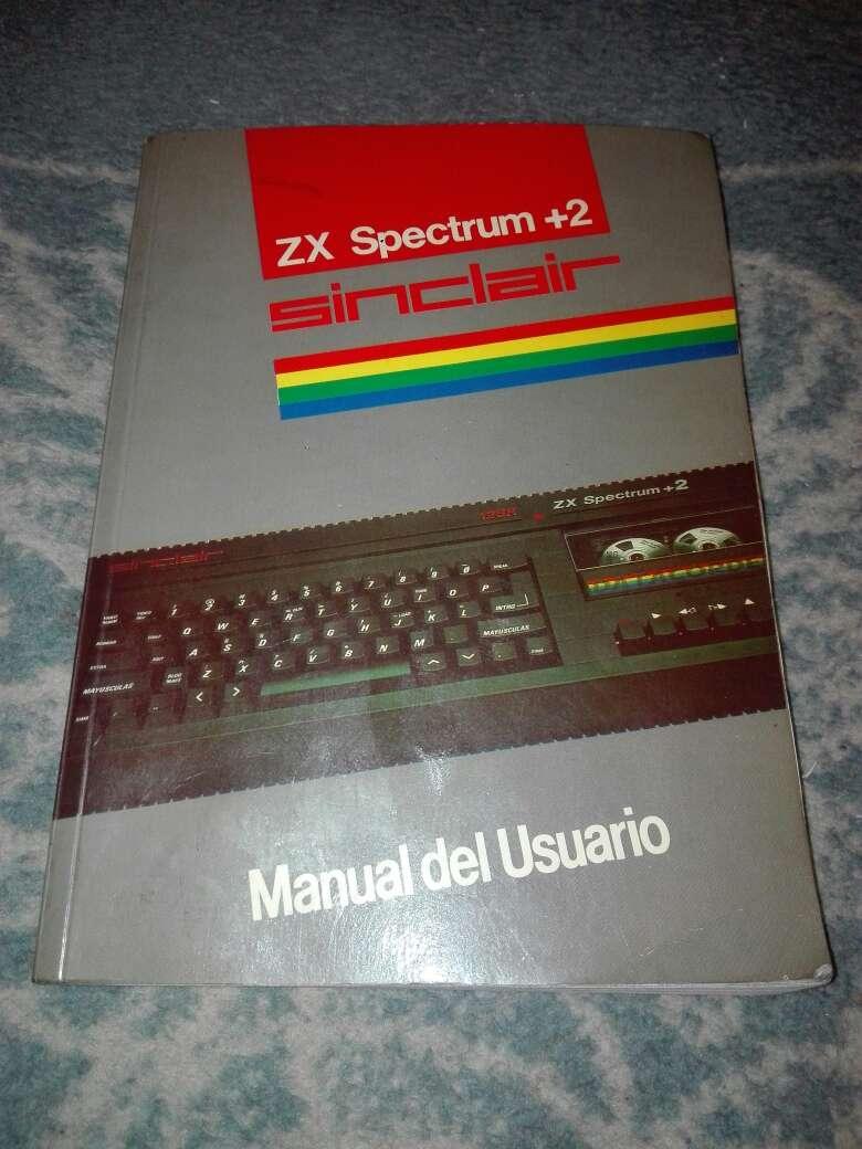 Imagen Manual instrucciones zx spectrum+2