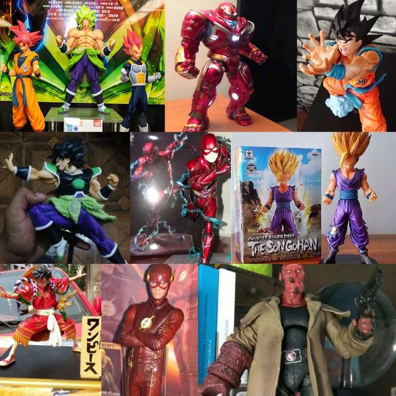 Imagen Figuras de acción de anime, marvel, DC, ect.