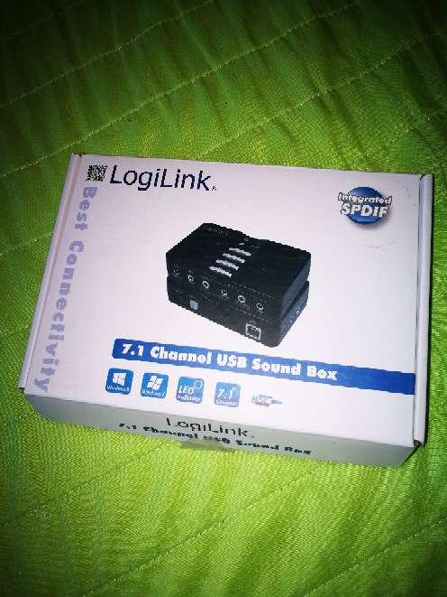 Imagen tarjeta de sonido logilink