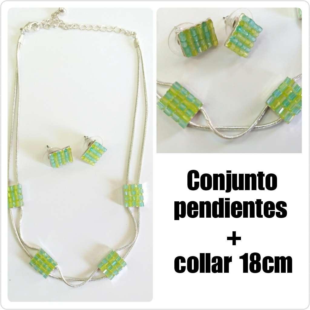 Imagen producto Conjunto de Collar + pendientes. 1