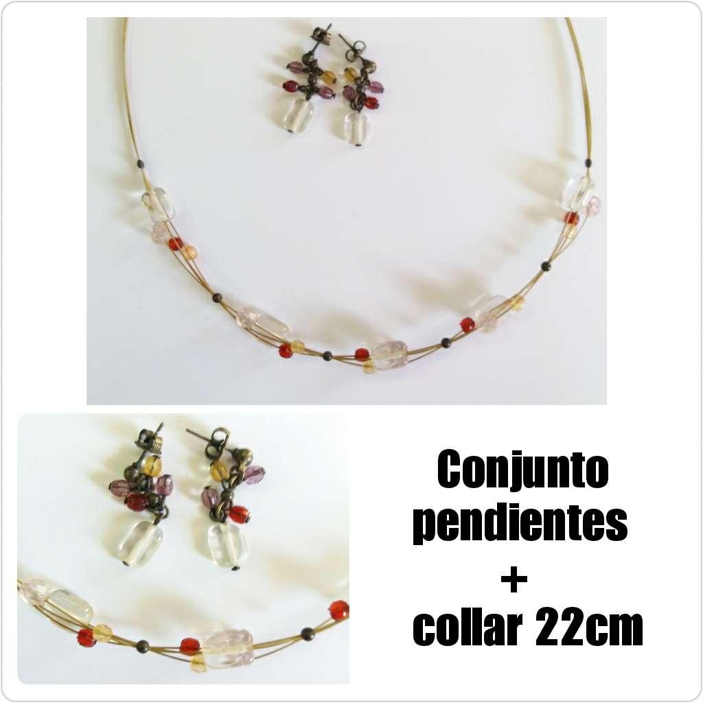 Imagen Conjunto collar y pendientes