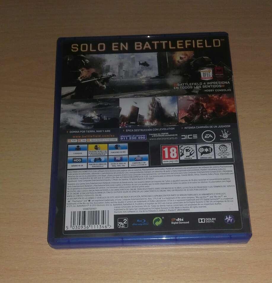 Imagen producto BATTLEFIELD 4 PS4 3