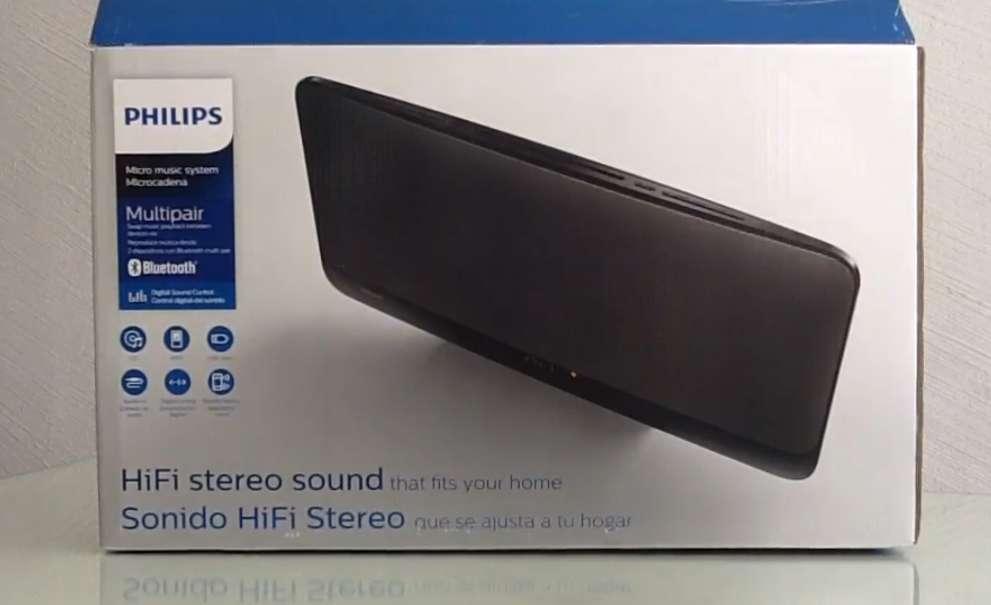 Imagen Equipo de música compacto Hifi Philips nuevo