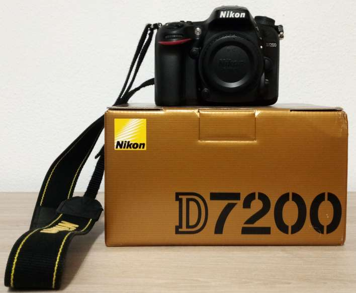 Imagen Camara Nikon D7200