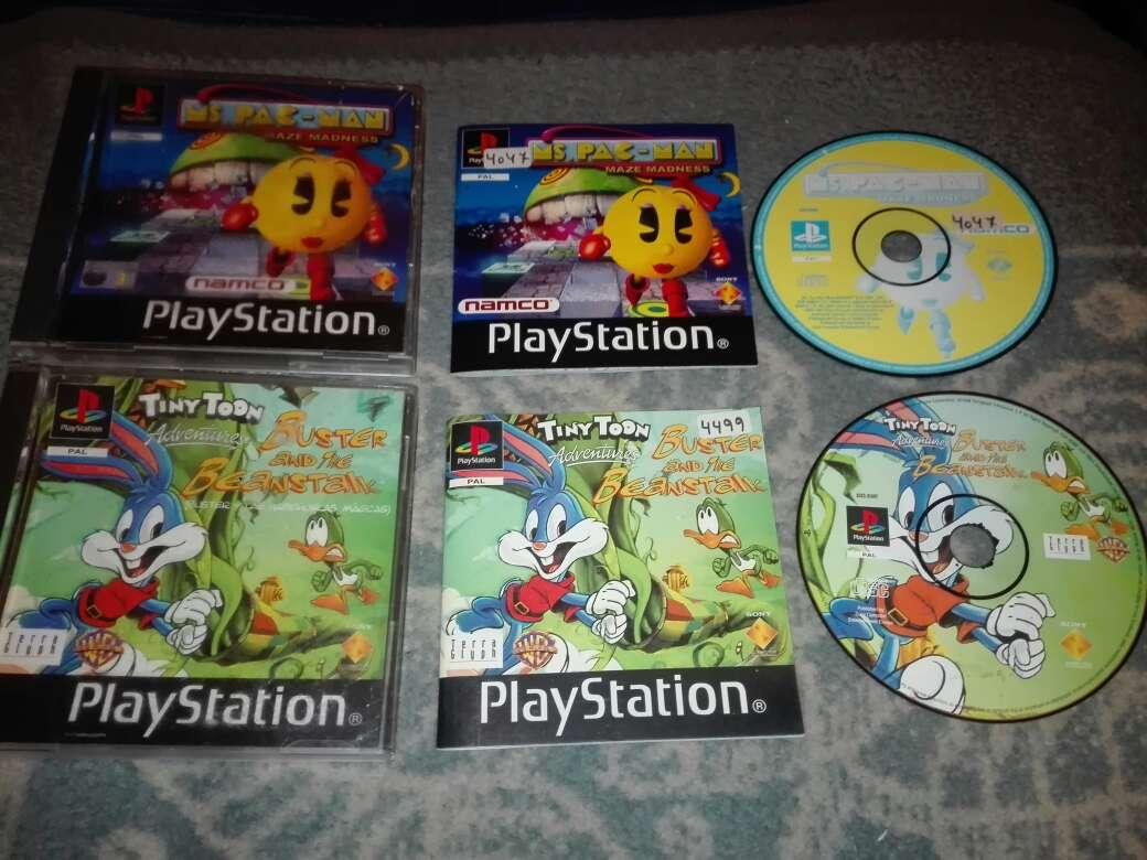 Imagen Lote 2 juegos ps1 pal es