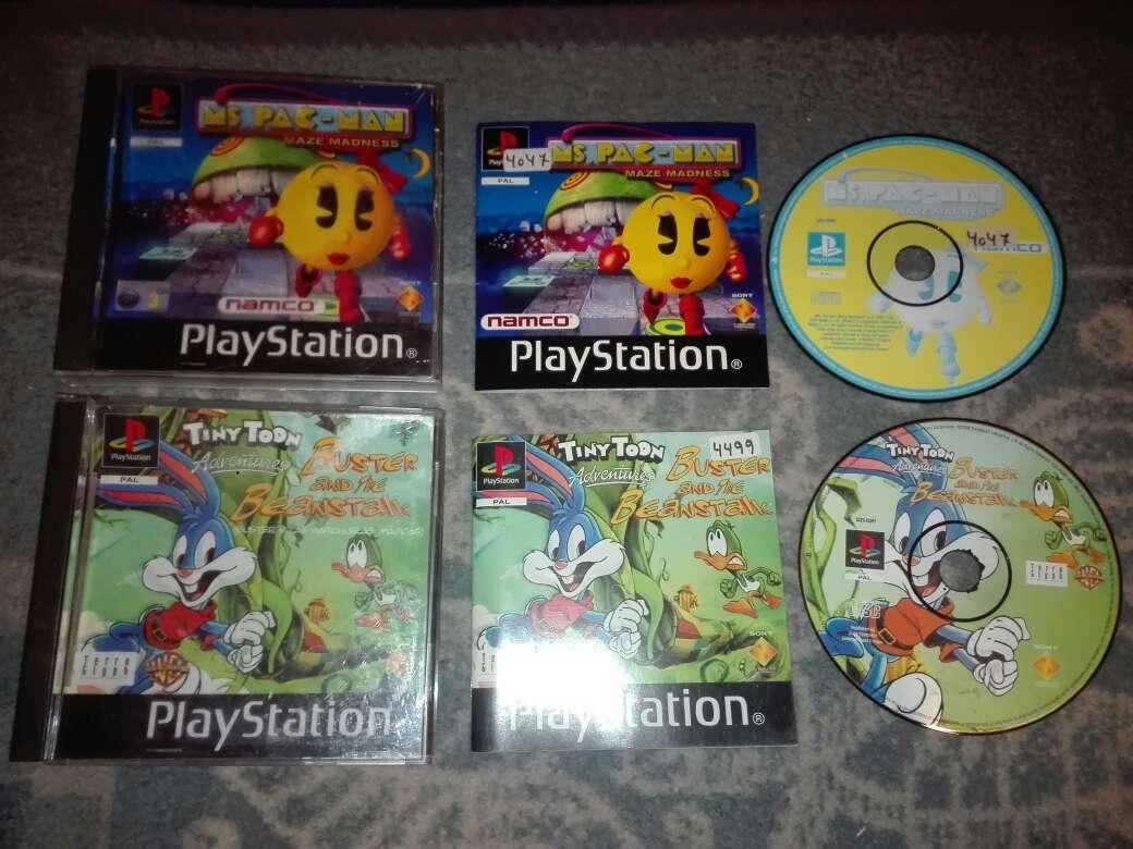 Imagen producto Lote 2 juegos ps1 pal es 2