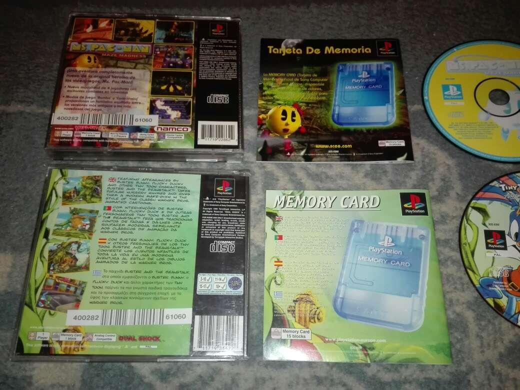 Imagen producto Lote 2 juegos ps1 pal es 3