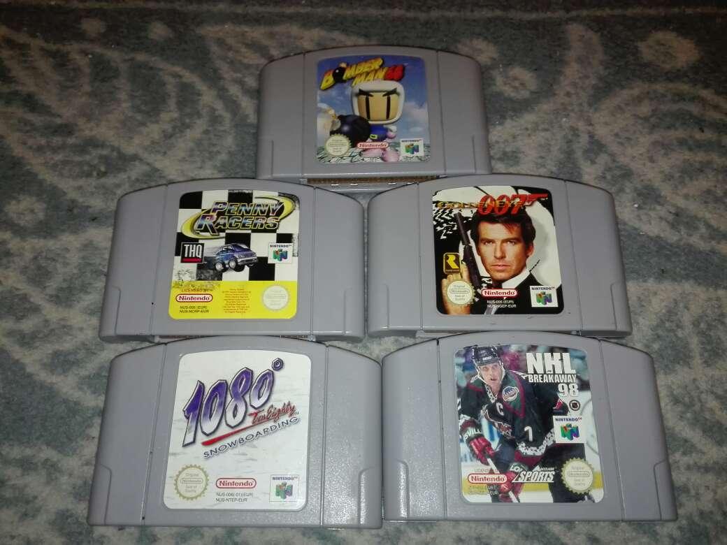 Imagen Pack 5 juegos Nintendo 64