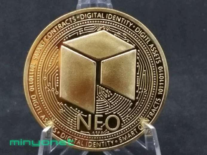 Imagen producto Moneda NEO criptomoneda  2