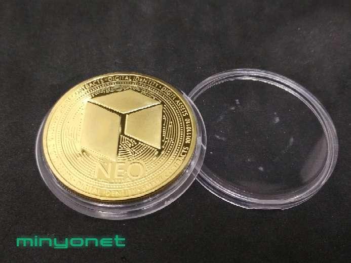 Imagen producto Moneda NEO criptomoneda  3
