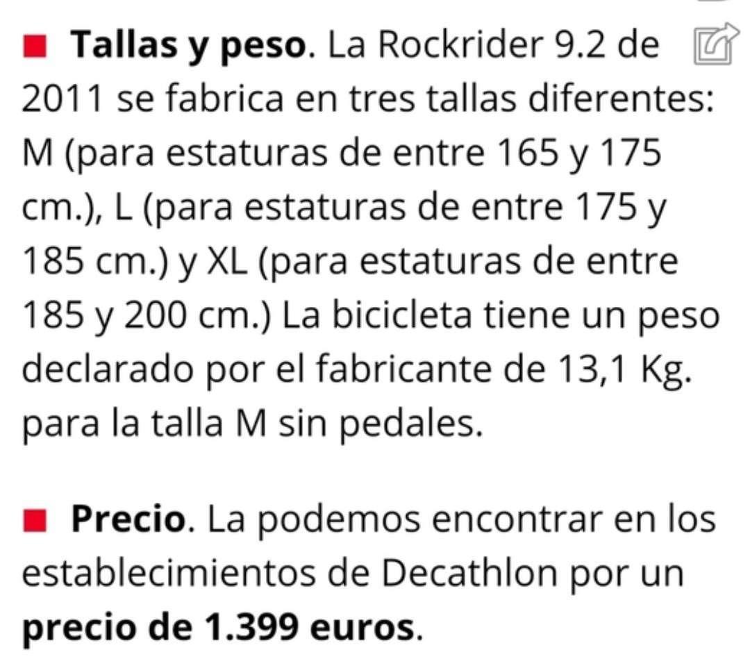 Imagen producto Vendo o Cambio Bicicleta Talla L 3