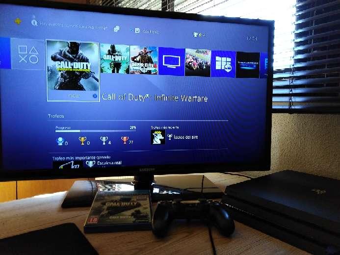 Imagen Ps4 pro 1TB +TV Samsung 32