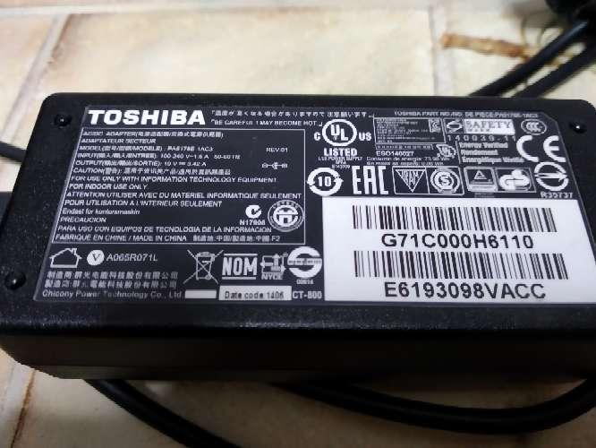 Imagen Cargador Toshiba satélite original