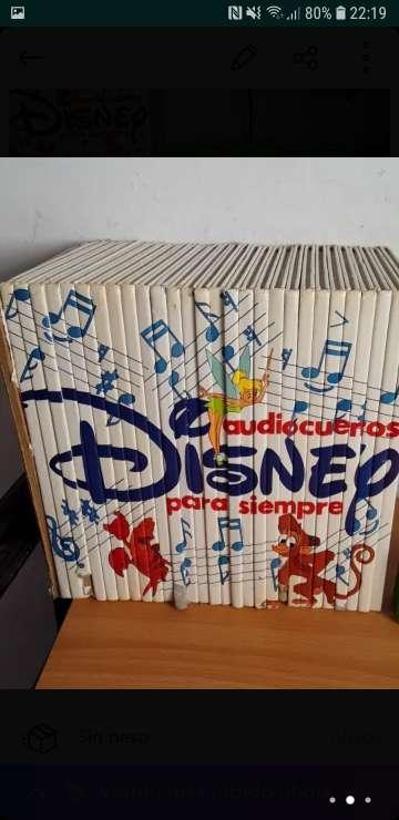 Imagen producto Colección cuentos Disney + Cassete 2
