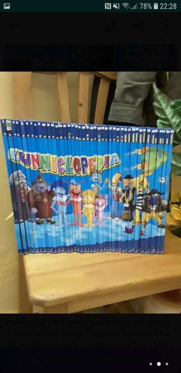 Imagen producto Colección dvds + libros Lunnis 1