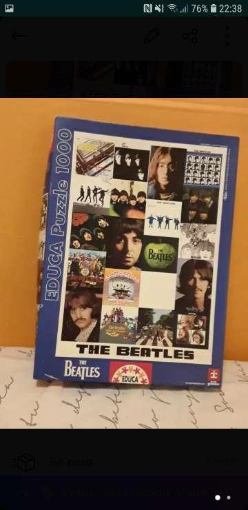 Imagen Puzzle the Beatles