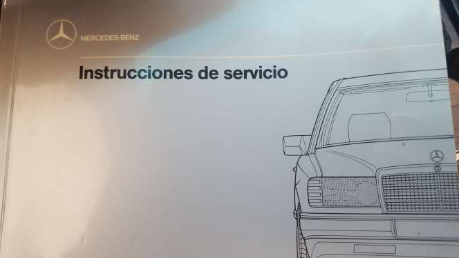 Imagen manual de mercedes 300