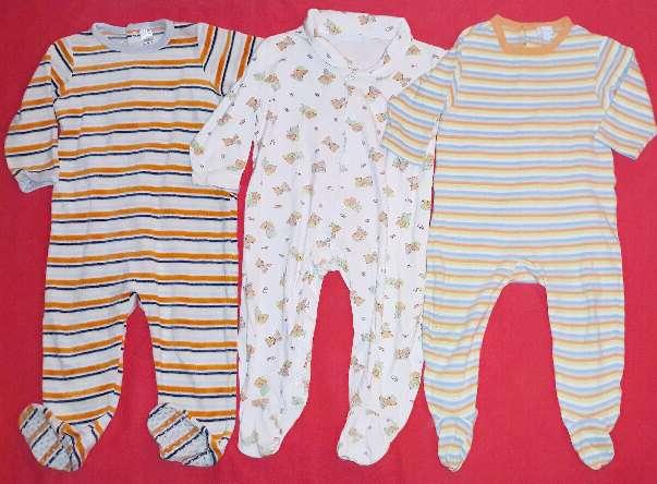 Imagen Lote pijamas bebé, 18m.