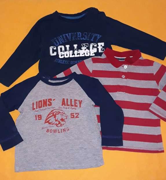 Imagen producto Lote camisetas bebé, 12m.  2
