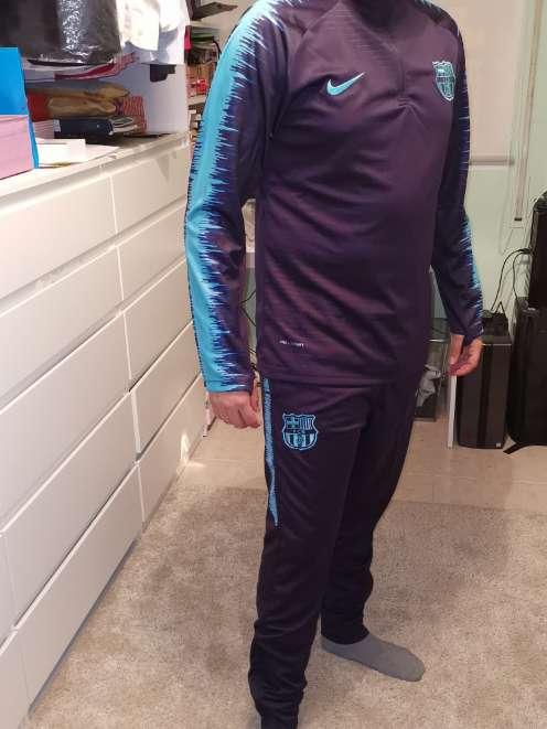 Imagen producto Chándal fútbol club Barcelona 2018-2019  3
