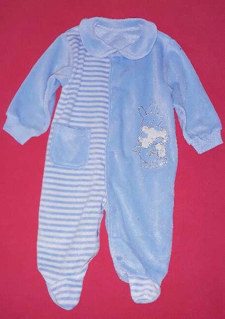 Imagen Pelele polar bebé, 9-12m.