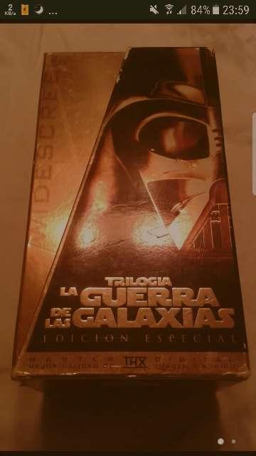 Imagen producto Trilogia la guerra de las galaxias 1