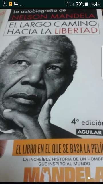 Imagen libro nelson mandela