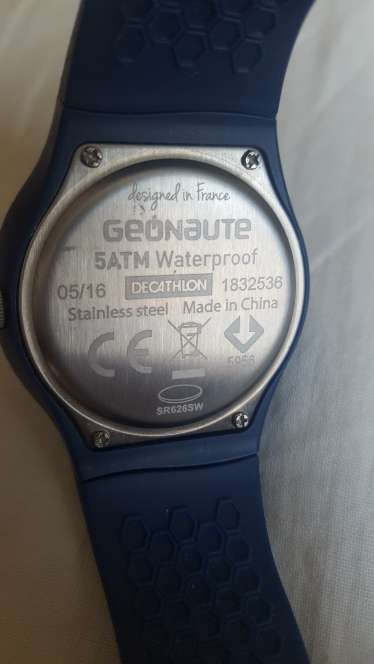 Imagen producto Reloj   geonaute 3