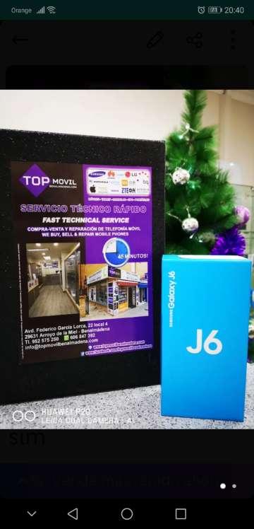 Imagen Samsung j6 32gb 2017 dual sim 32gb color gris nuevo libre y original 2 años de garantía