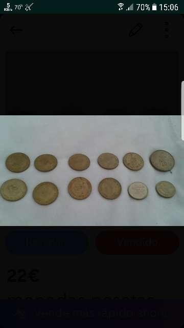 Imagen monedas pesetas