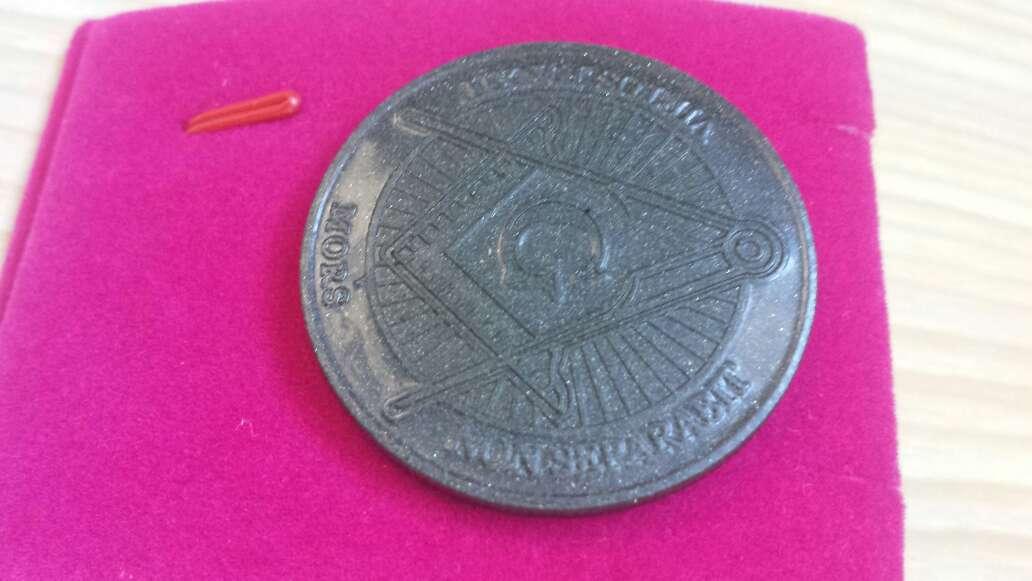 Imagen producto Moneda polvo de meteorito Masonica 6