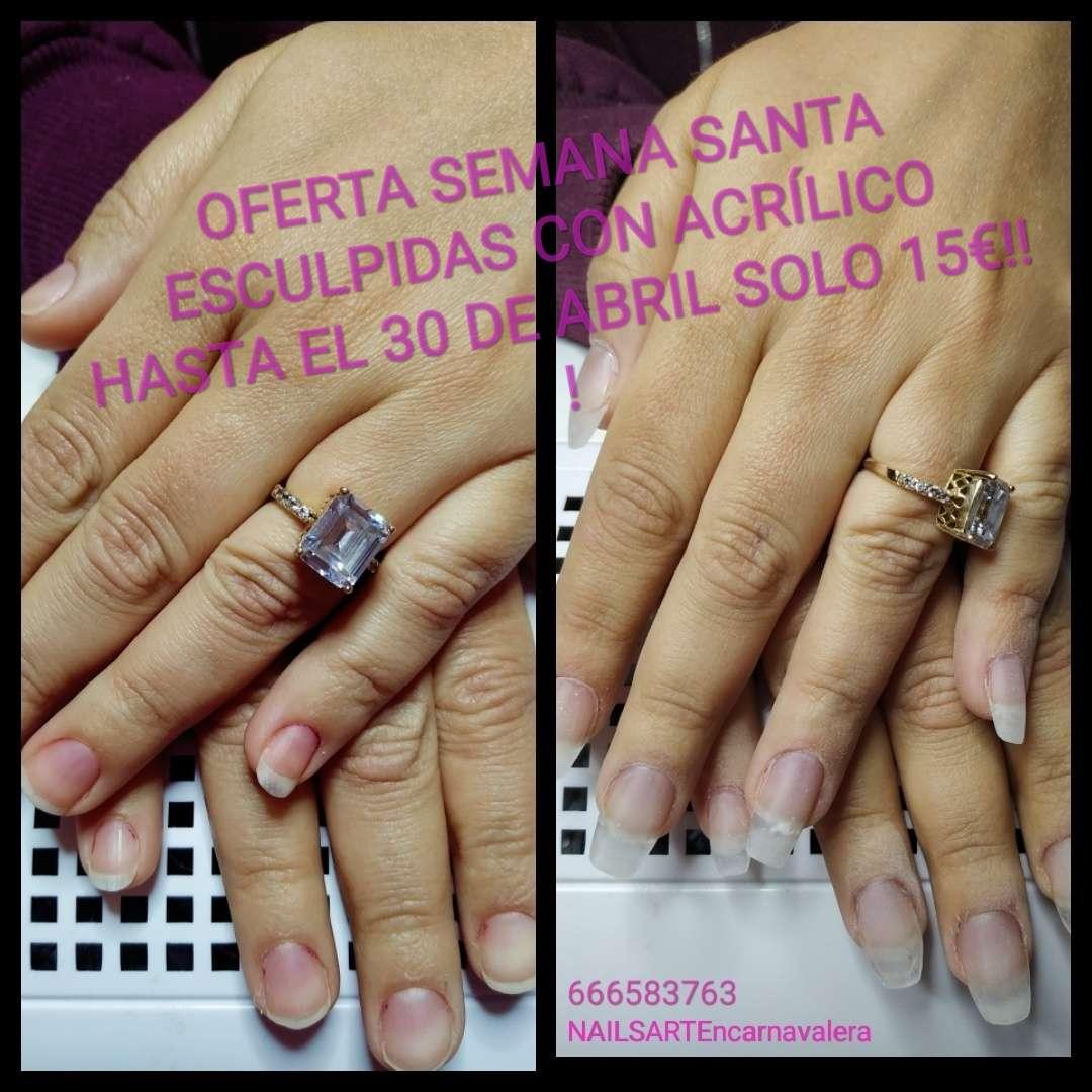 Imagen producto *Uñas* Permanente 12€ acrilicas 20€ 10