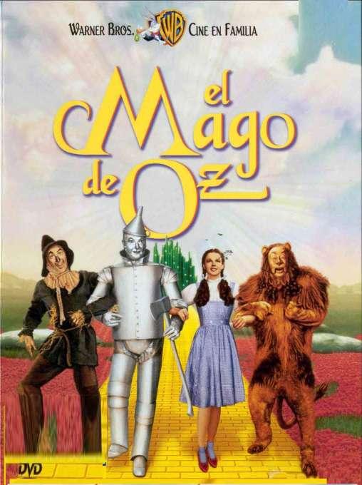 Imagen DVD El mago de Oz