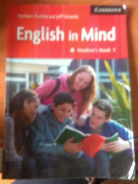 Imagen English in Maind student book 1