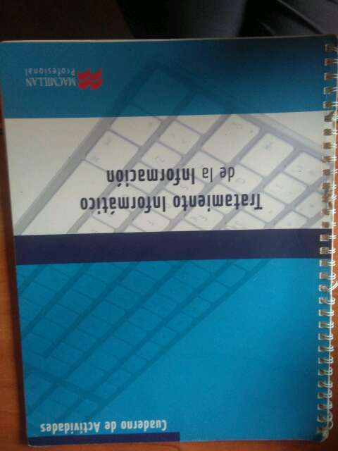 Imagen cuaderno de actividades Tratamiento de la informacion