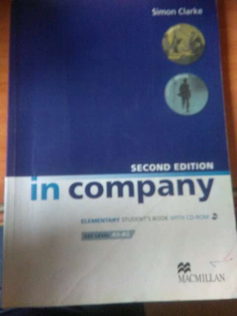 Imagen in company elementary student book  cef level A1_ A2 Second edition