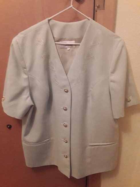 Imagen Traje de chaqueta y falda talla 52