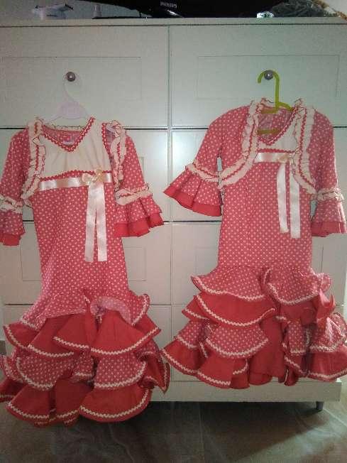Imagen vestido de flamenca para niñas