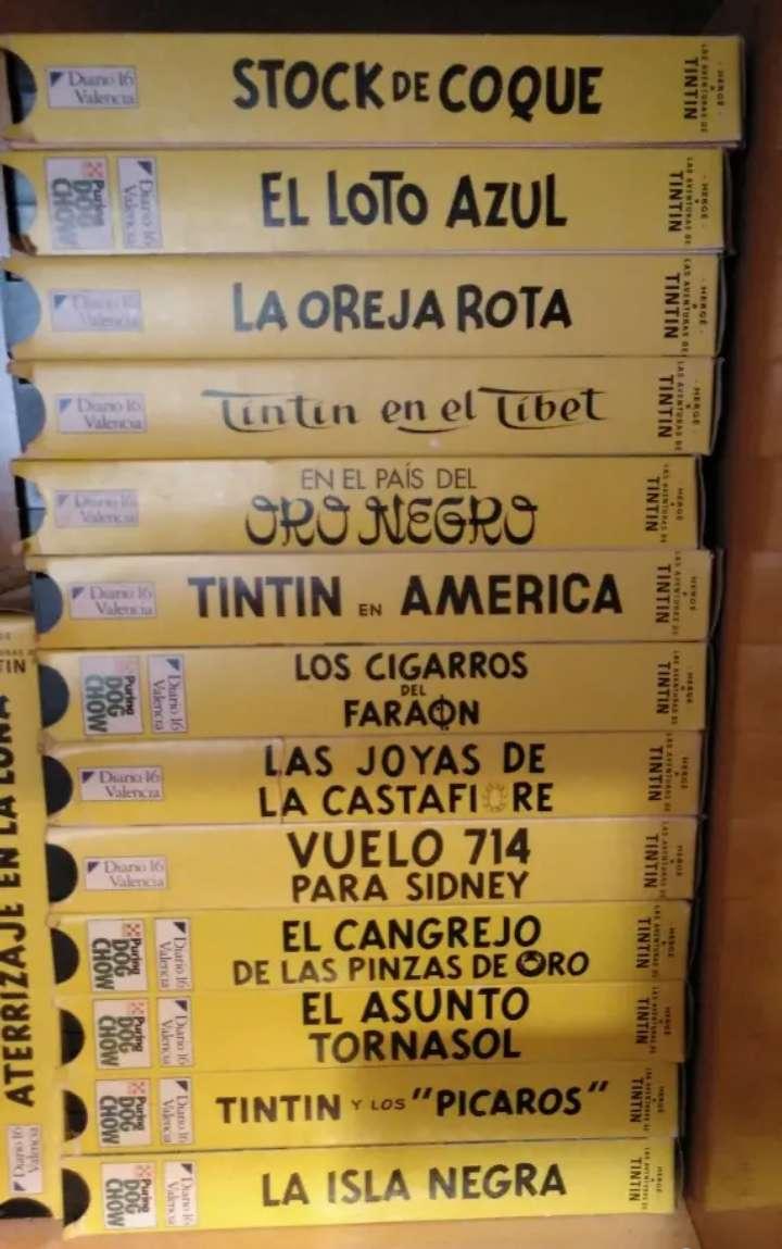 Imagen 21 VHS de Tintín para coleccionistas