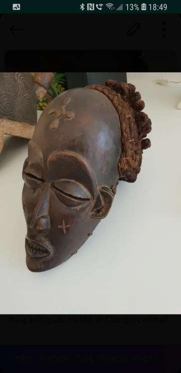 Imagen máscara africana