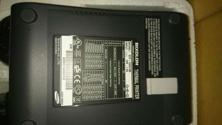 Imagen producto Etiquetadora termica bixolon samsung de tickets.  4