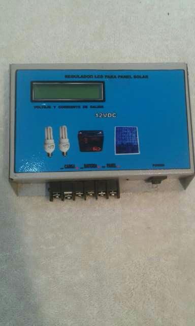 Imagen regulador solar