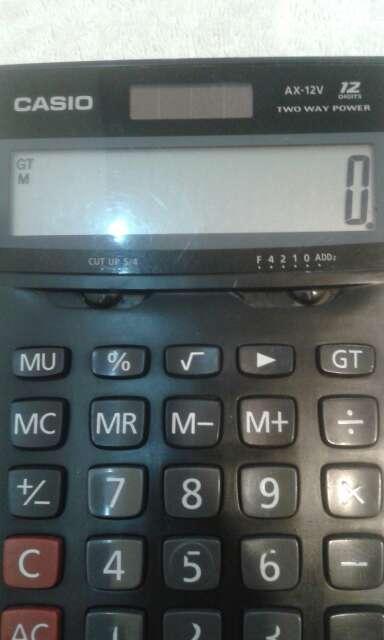 Imagen calculadora casio