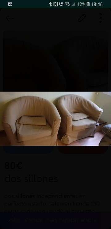 Imagen sillones nuevos
