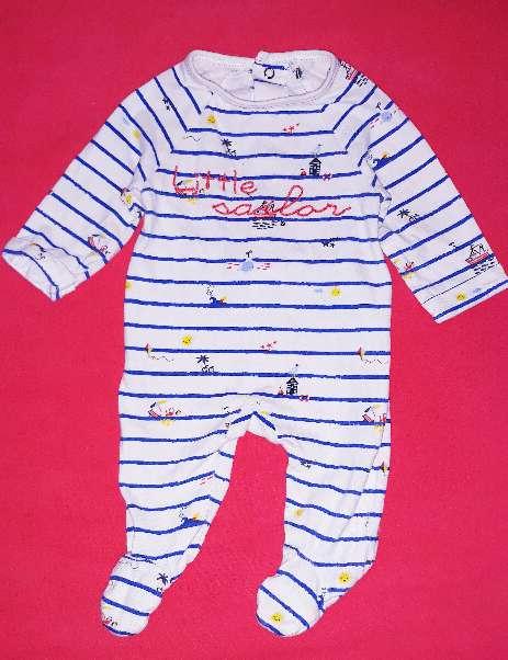 Imagen Bebé, pies acolchados, 0-3m.